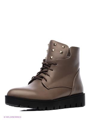 Ботинки INARIO. Цвет: бежевый