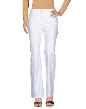 Повседневные брюки E/KOLLINS. Цвет: белый