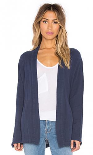Мягкая сеточная куртка LACAUSA. Цвет: синий