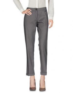 Повседневные брюки NELL&ME. Цвет: темно-коричневый