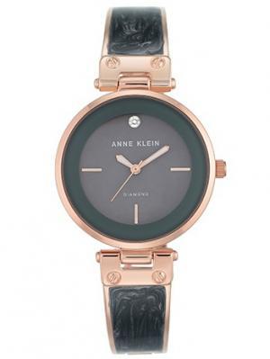 Часы ANNE KLEIN. Цвет: темно-фиолетовый