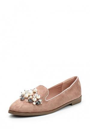 Лоферы Max Shoes. Цвет: розовый