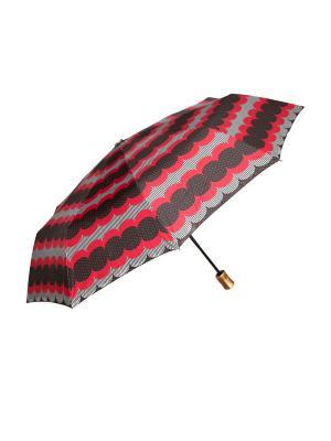 Зонт автоматический Mitya Veselkov. Цвет: красный