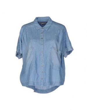 Джинсовая рубашка TWENTY8TWELVE. Цвет: синий