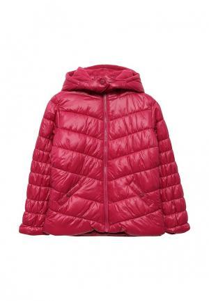 Куртка утепленная Boboli. Цвет: фуксия
