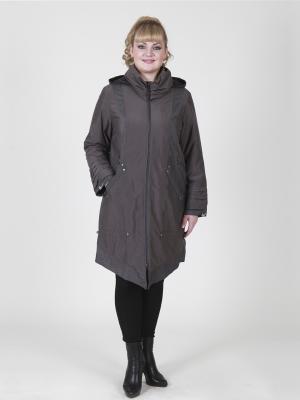 Пальто женское VIKO. Цвет: светло-коричневый