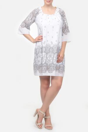 Платье Веста. Цвет: белый