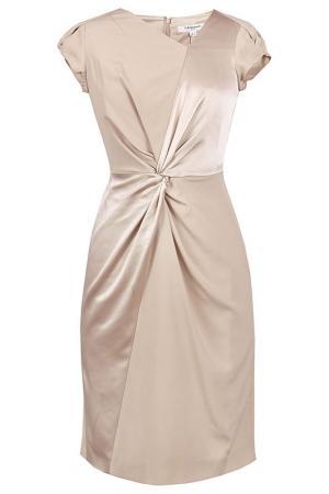 Платье L.K. Bennett London. Цвет: коричневый
