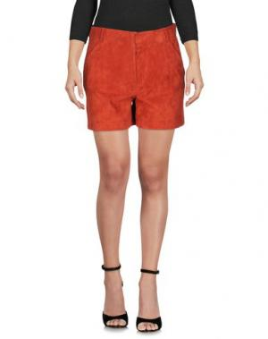 Повседневные шорты ENES. Цвет: ржаво-коричневый