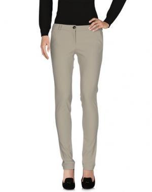 Повседневные брюки RRD. Цвет: серый
