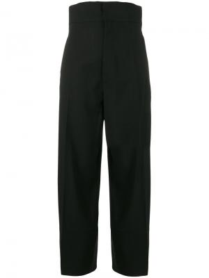 Укороченные брюки с завышенной талией Jacquemus. Цвет: чёрный