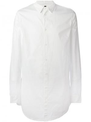 Удлиненная рубашка Poème Bohémien. Цвет: белый