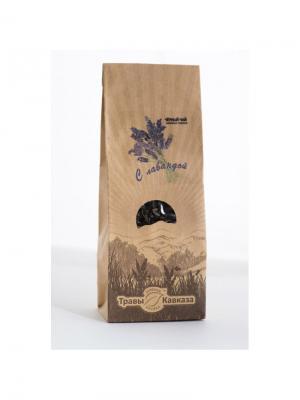 Чай черный с лавандой Травы Кавказа. Цвет: бежевый