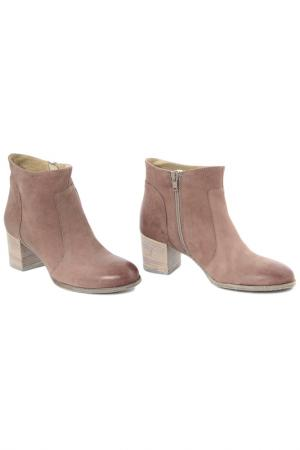 Ankle boots PAOLA FERRI. Цвет: brown