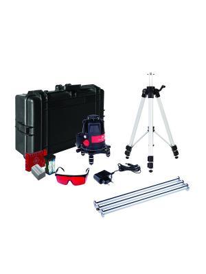 Построитель лазерных плоскостей ADA ULTRALINER 360 4V Set instruments. Цвет: черный, красный