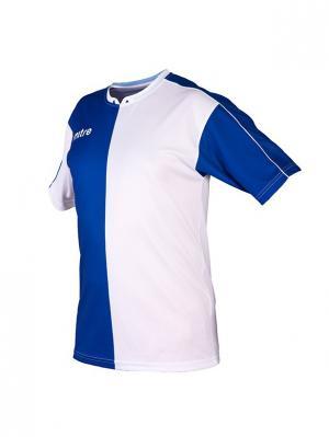 Футболка игровая MITRE Bilbao Юниорская. Цвет: синий, белый