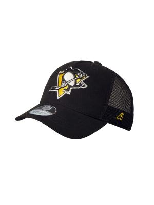 Бейсболка NHL Penguins Atributika & Club. Цвет: черный