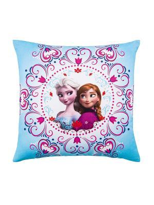 Декоративная подушка Фроузен TOGAS. Цвет: голубой