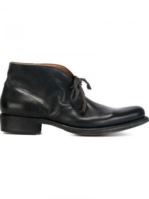 Ботинки с заостренным носком Cherevichkiotvichki. Цвет: синий