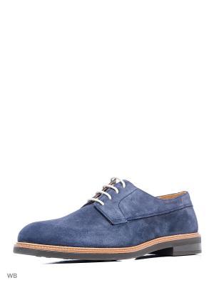 Мужские туфли - LEOLO8 MANGO MAN. Цвет: темно-синий