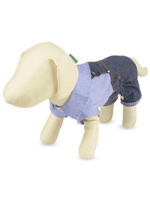Костюм  для животных (джинсовый) TRIOL. Цвет: синий