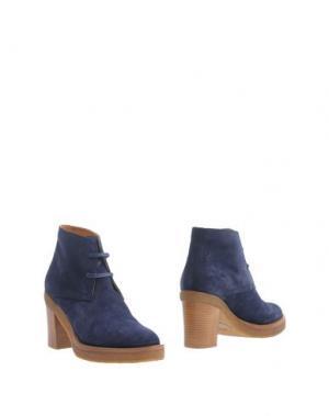 Полусапоги и высокие ботинки VERONIQUE BRANQUINHO. Цвет: синий