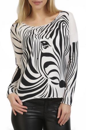 Пуловер Apanage. Цвет: белый