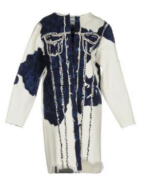 Джинсовая верхняя одежда FAUSTINE STEINMETZ. Цвет: белый