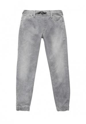Брюки Pepe Jeans. Цвет: серый