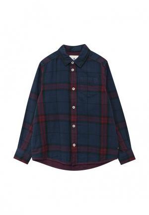 Рубашка Tom Tailor. Цвет: синий