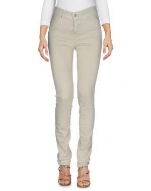 Джинсовые брюки CAMBIO. Цвет: светло-зеленый