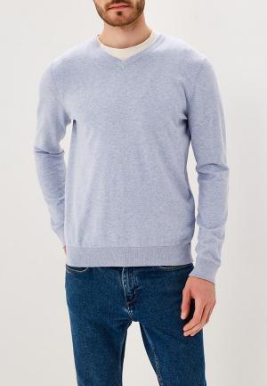 Пуловер Burton Menswear London. Цвет: голубой