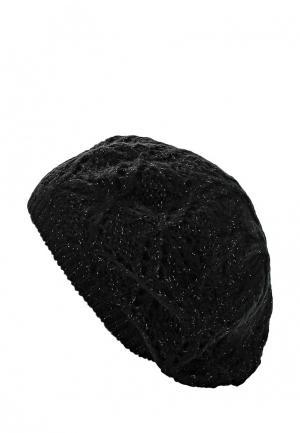 Берет oodji. Цвет: черный