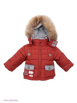 Куртка Baby Club. Цвет: терракотовый