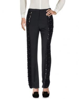 Повседневные брюки INTROPIA. Цвет: черный