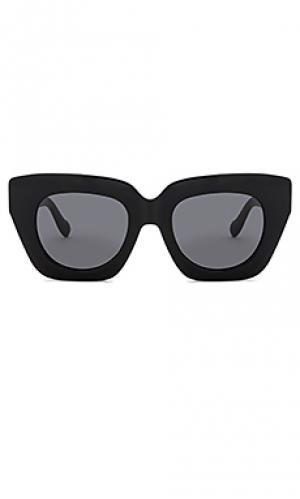 Солнцезащитные очки tokyo dream Sonix. Цвет: черный