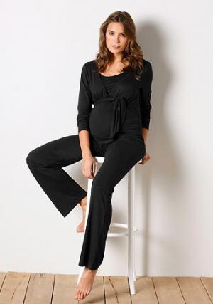 Комплект одежды для беременных «9 месяцев» (4 изд.) NEUN MONATE. Цвет: чёрный