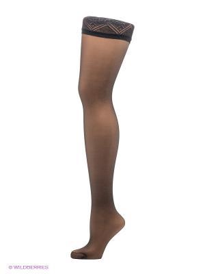 Чулки Cecilia de Rafael. Цвет: черный