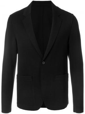 Классический пиджак Wooyoungmi. Цвет: чёрный