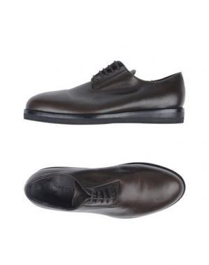 Обувь на шнурках UMIT BENAN. Цвет: темно-коричневый