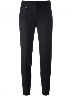 Классические брюки Fay. Цвет: чёрный