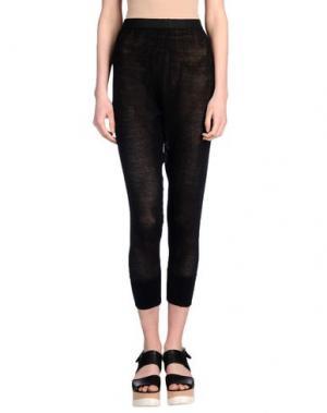 Повседневные брюки UNRAVEL. Цвет: черный