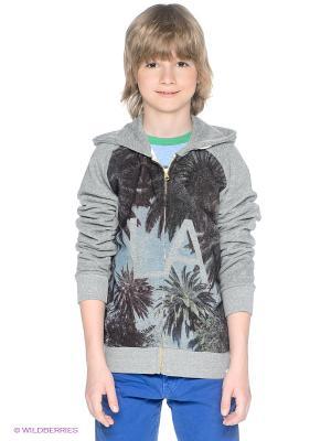 Толстовка American Outfitters. Цвет: серый меланж, бордовый, голубой
