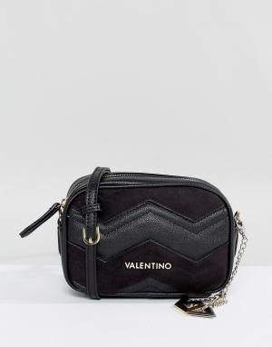Valentino by Mario Черная сумка. Цвет: серый