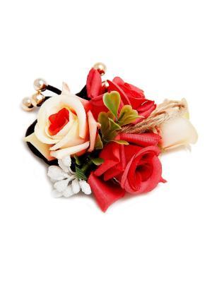 Резинка Kameo-bis. Цвет: красный, белый, кремовый