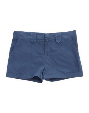 Повседневные шорты LE PETIT COCO. Цвет: грифельно-синий