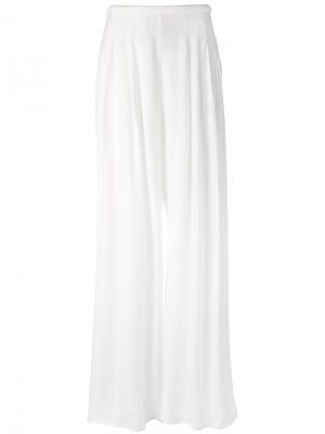 Широкие брюки C/Meo. Цвет: белый