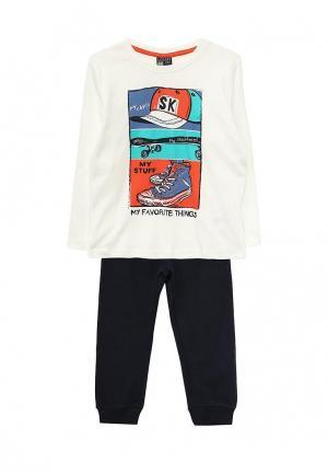 Пижама Losan. Цвет: белый