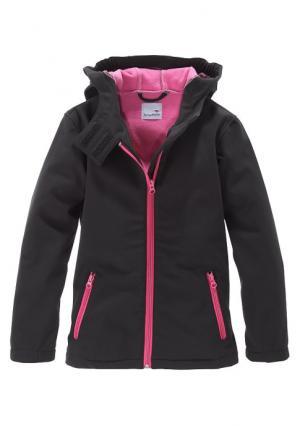 Куртка Kangaroos. Цвет: черный