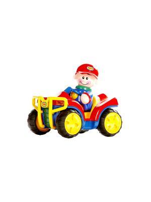 Игрушка Квадроцикл Tolo. Цвет: красный